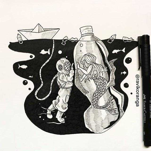 Plastika se nalazi u svim oceanima, a otprilike 95% nalazi se na dnu oceana.