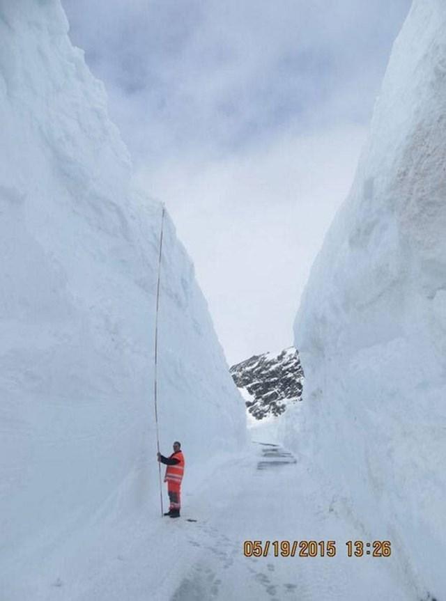 2. U Norveškoj snijega uvijek ima previše.