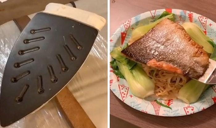 Ovaj kuhar priprema gurmanske delicije iz hotelske sobe