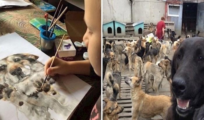 Dječak koji slika kako bi osigurao hranu za sklonište pasa vratit će vam vjeru u čovječanstvo