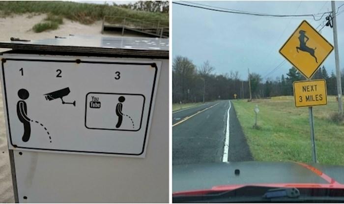 14 ljudi podijelilo je najsmješnije znakove na koje su naišli tijekom svojih putovanja
