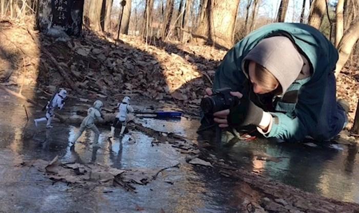 VIDEO Ovaj fotograf koristi igračke i trikove kako bi stvorio akcijske scene
