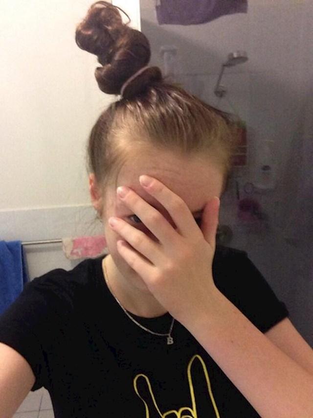 #3 Čini se kao da savršeni pramen kose ne postoji.