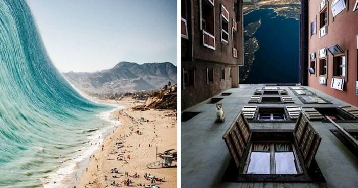 14 fotomanipulacija koje prelaze granice između snova i realnosti