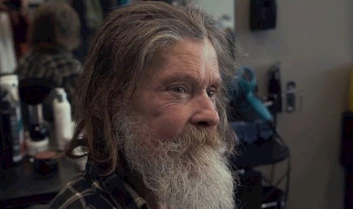 VIDEO U frizerski salon je ušao sav čupav, kad je izašao izgledao je kao pravi gospodin