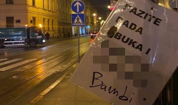 "Netko je u Zagrebu ""prepravio"" natpis upozorenja na Ilici"