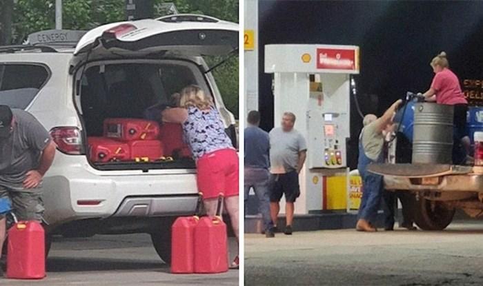 14 fotki Amerikanaca koji se nerviraju zbog 'nestašice goriva', za koju su sami krivi