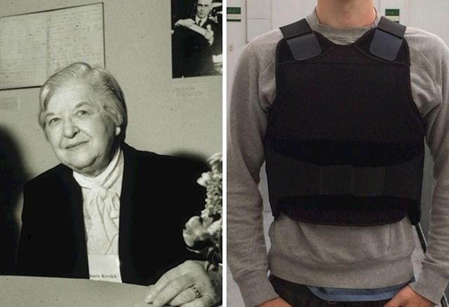 1. Stephanie Kwolek izumila je kevlar.