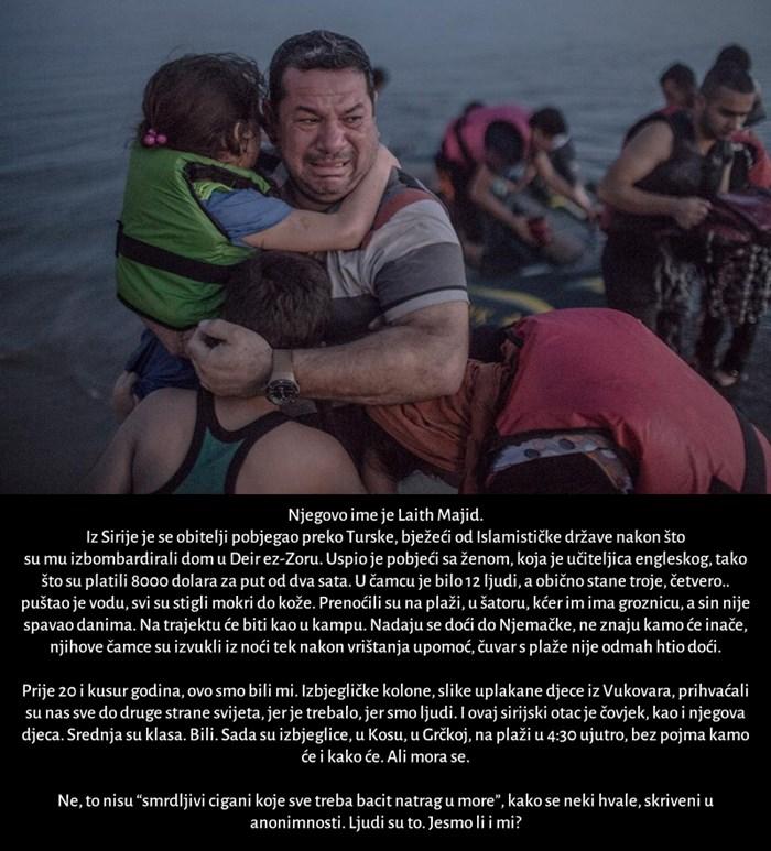IZ PAKLA SAMI U NOĆ: Ovo je priča koja stoji iza najtužnije fotografije