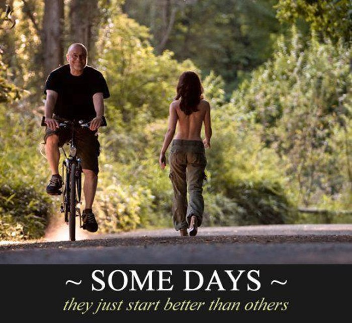 Neki dani jednostavno započnu bolje od drugih :)