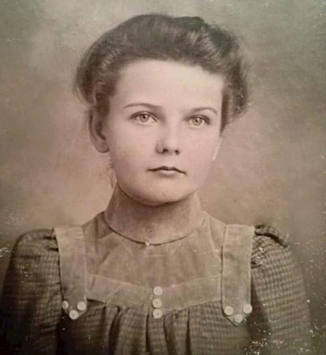 Moja baka sa 7 godina