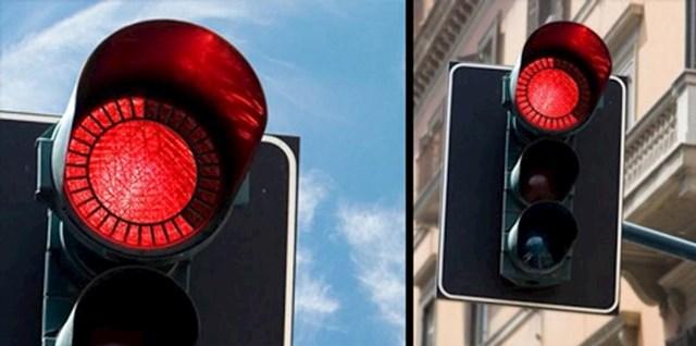 Semafor koji odbojava koliko još do zelenog svjetla