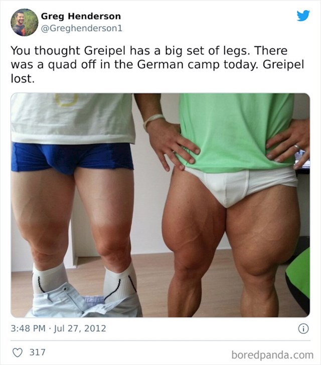 Noge olimpijskog biciklista