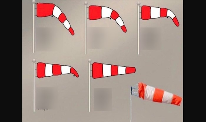 Znate li što označavaju različite linje na vjetrokazu?