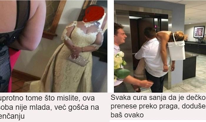 Najbizarnije fotke s vjenčanja koje ste ikad vidjeli