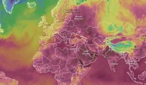 Zemlja je danas gorjela! Fantastična mapa otkriva brutalne temperature zabilježene diljem svijeta