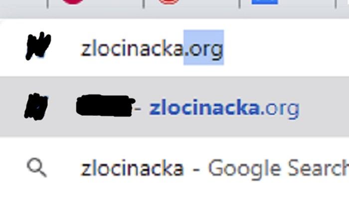 Ovo je genijalno: Znate li što se dogodi kad odete na stranicu zlocinacka.org?
