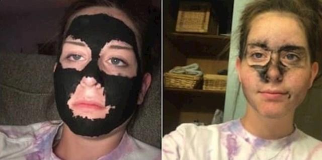 """""""Evo što mi se dogodilo kad sam na lice stavila jeftinu masku sa sumnjivog web shopa."""""""