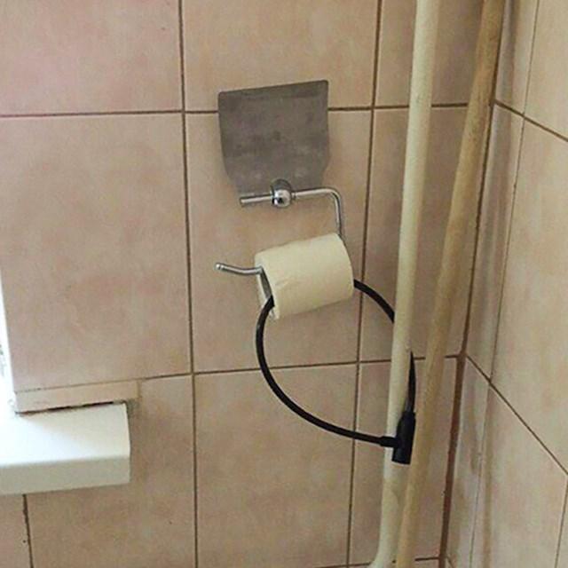 Nema šanse da netko ukrade ovaj WC papir...