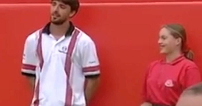 Ivanišević je primljen u tenisku kuću slavnih i sad svi dijele ovaj njegov zaboravljeni video