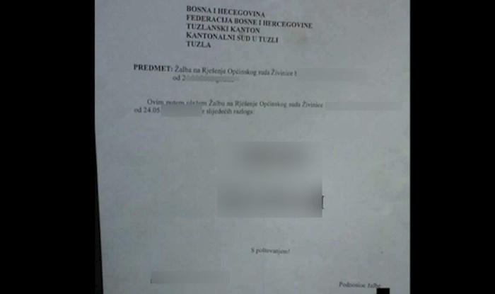 Žalba na presudu iz BiH osvaja internet: Pogledajte kako je s 2 riječi dokazao da nije kriv