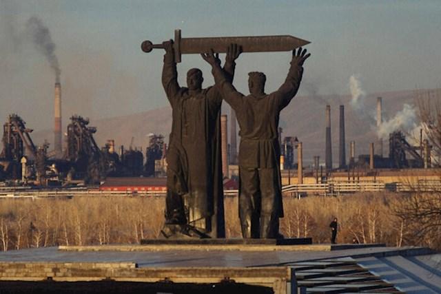 Magnitogorsk, jedan od najgore zagađenih gradova u Rusiji. Samo 28% djece rođene u gradu potpuno je zdravo