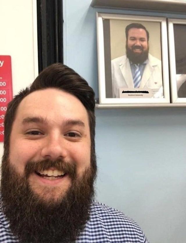Došao sam u doktora i vidio sliku na zidu za koju sam pomislio da je moja