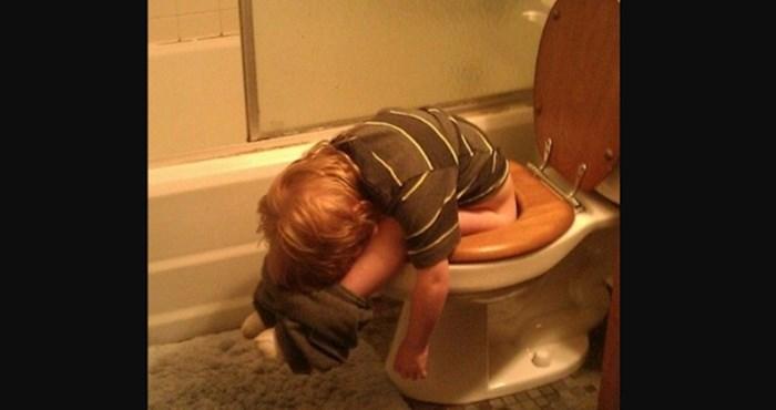 12 dokaza da djeca mogu zaspati uvijek i svugdje (osim kad roditeljima to odgovara)