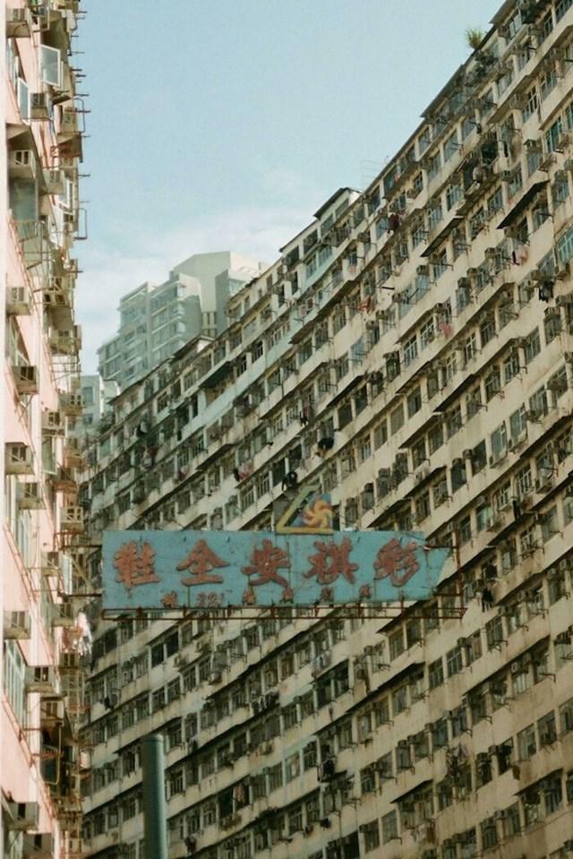 Stambena zgrada u Hong Kongu