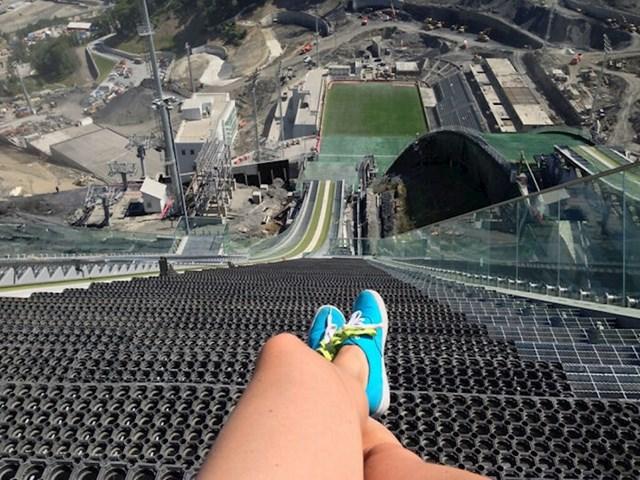 Pogled s vrha skakaonice u Sočiju