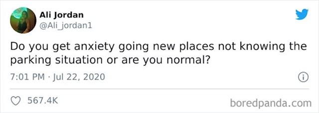 Jel' svi osjećaju tjeskobu ako idu negdje autom i ne znaju unaprijed parking situaciju?