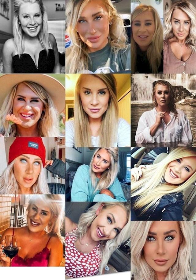 Ova žena na svakoj fotki izgleda drugačije