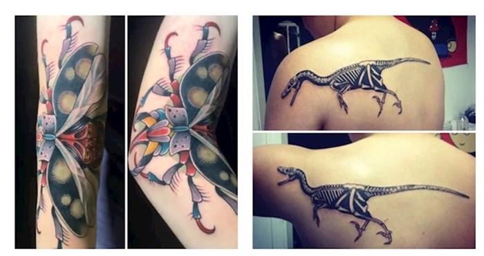 Genijalne tetovaže! Transformiraju se kako pomiču svoje tijelo