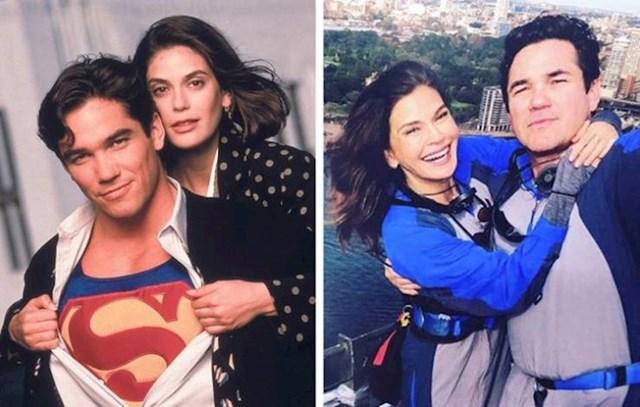 Dean Cain i Teri Hatcher (Clark Kent i Lois Lane)