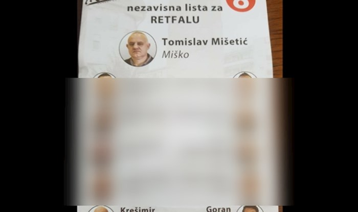 Predizborni plakat iz Osijeka je pokorio internet: Na vrhu je Miško, a tek ekipa ispod...