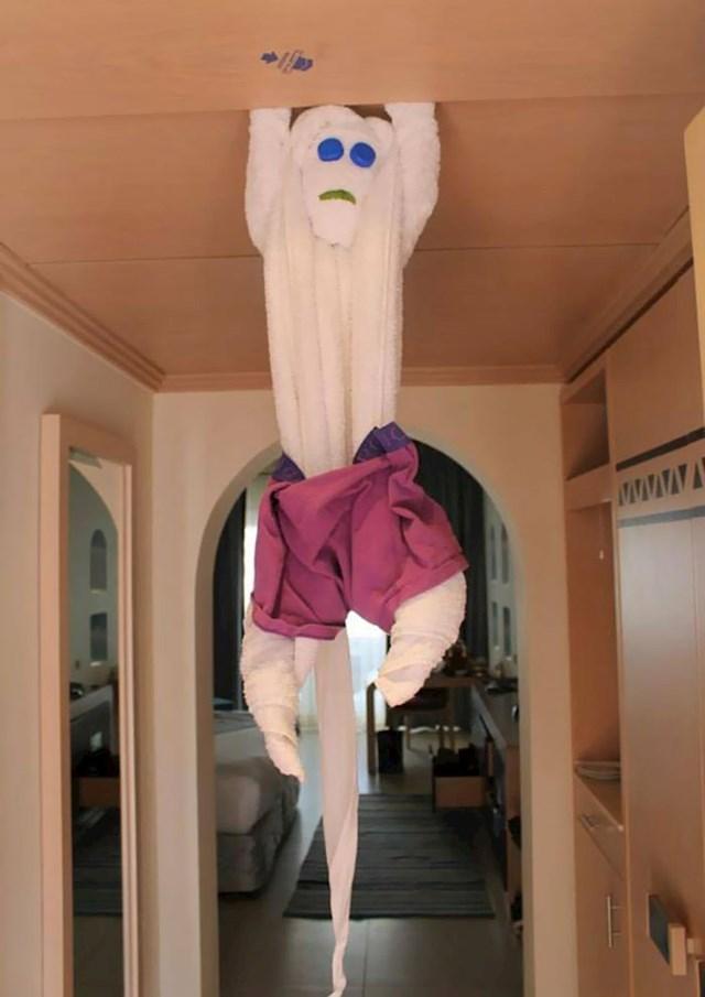 Sobarica je ovako spremila ručnike