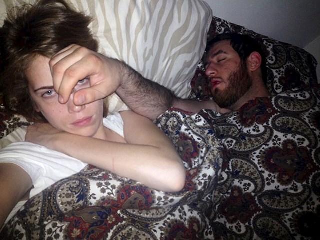 I onda on ne razumije zašto mrzim spavati s njim