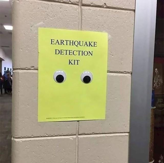 Detektor potresa