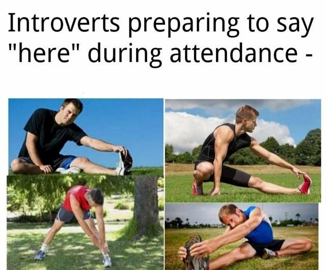 """Introverti dok se spremaju reći """"Prisutan"""" kad učiteljica proziva"""