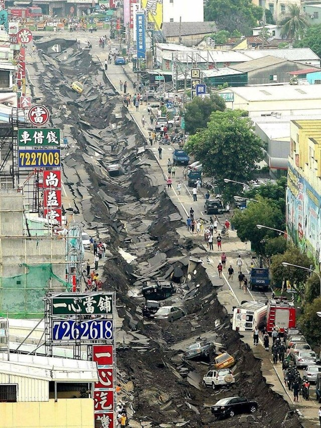 Veliko curenje plina na Tajvanu