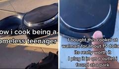 Video od 20 milijuna pregleda: Pogledajte kako tinejdžer i beskućnik kuha ručak u SAD-u