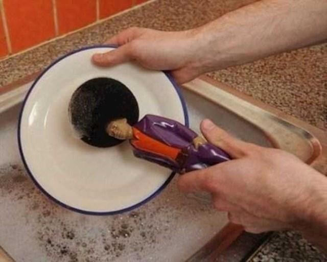 Pranje suđa bi moglo biti zabavno