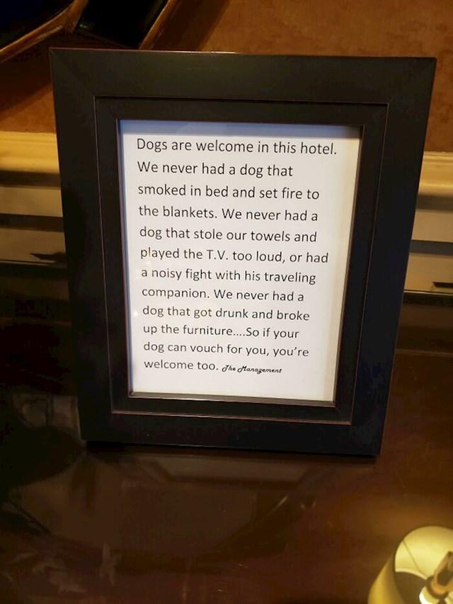 Poruka svim vlasnicima pasa