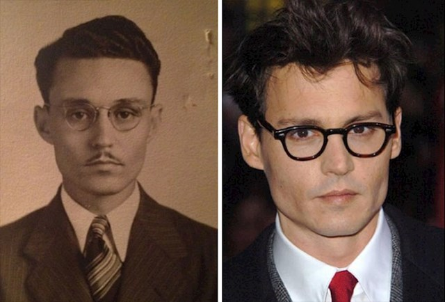 Moj pradjed, isti Johnny Depp