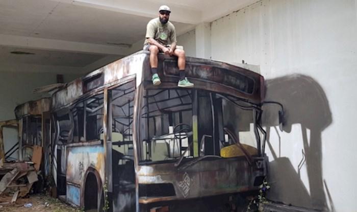 Ovo nije napušteni autobus, oduševit će vas kad vidite što je