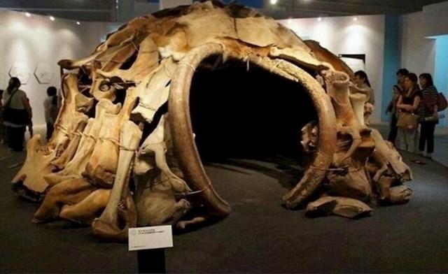 Više od 15,000 godina star šator napravljen od kostiju mamuta