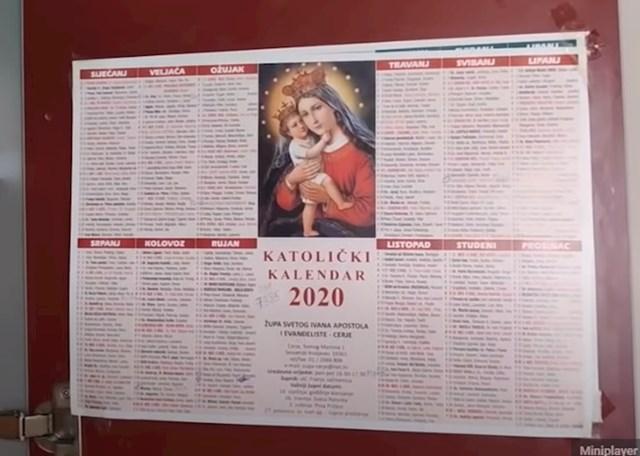 7. Katolički kalendar