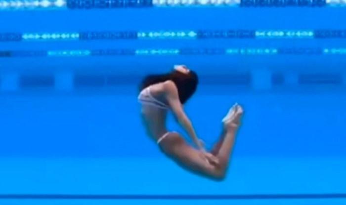 Djevojka koja pleše u vodi je hit na Redditu, ljudi ne vjeruju da je video stvaran