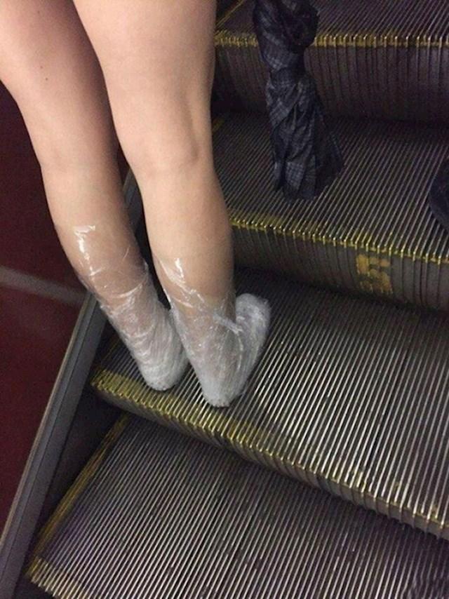 Folija = besplatna obuća