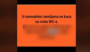 Morate vidjeti kako se na Balkanu provjerava je li WC zauzet